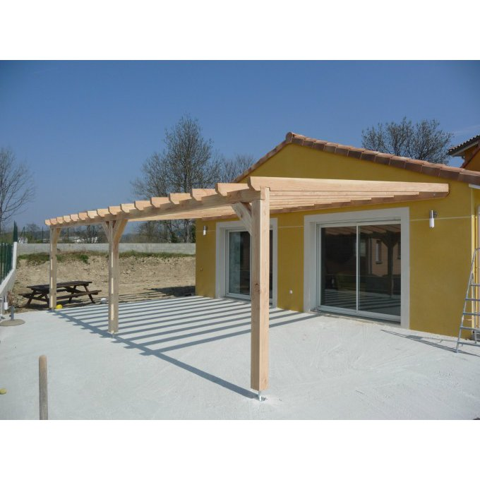 Hospice construction cmonsite for Pergola permis de construire