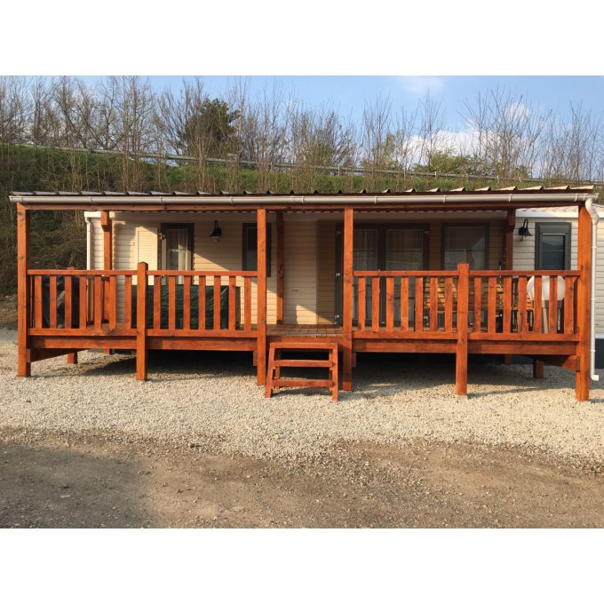 terrasse mobil home 8X3M