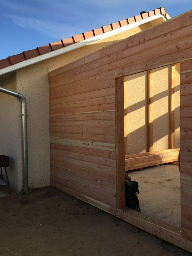 garage ossature bois hospice. Black Bedroom Furniture Sets. Home Design Ideas